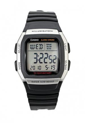 Часы Casio Collection W-96H-1A. Цвет: черный