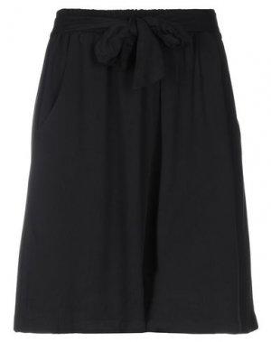 Повседневные шорты FLY GIRL. Цвет: черный