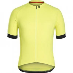 Джерси мужское Bontrager Circuit Visibility, размер 52 Trek. Цвет: желтый