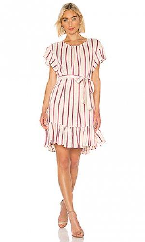 Летнее платье bambina RAVN. Цвет: кремовый