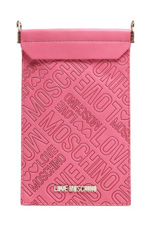 Phone case Love Moschino. Цвет: pink