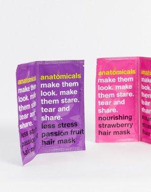 Набор масок для волос Anatomicals