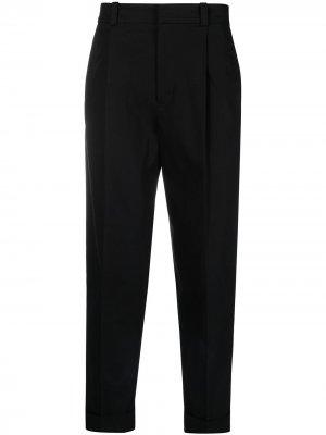 Зауженные брюки Acne Studios. Цвет: черный