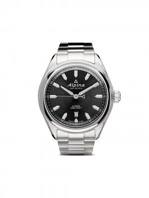 Наручные часы Alpiner Quartz 42 мм Alpina. Цвет: серый