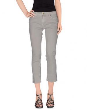 Джинсовые брюки-капри TRUE NYC.. Цвет: серый