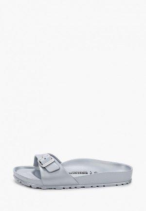 Сланцы Birkenstock Madrid EVA Metallic Silver N. Цвет: серый