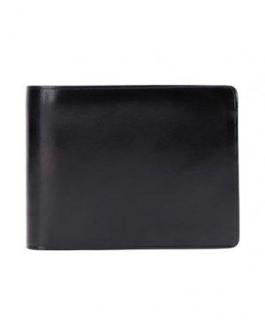 Бумажник IL BUSSETTO. Цвет: черный