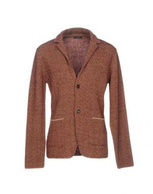 Пиджак KAOS. Цвет: красно-коричневый