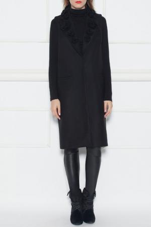 Пальто Nissa. Цвет: черный