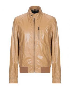Куртка ADHOC. Цвет: верблюжий