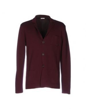 Пиджак MALO. Цвет: баклажанный