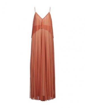 Длинное платье NOLITA. Цвет: оранжевый