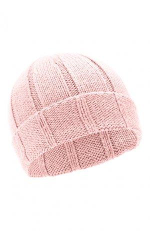Шерстяная шапка Escada Sport. Цвет: розовый