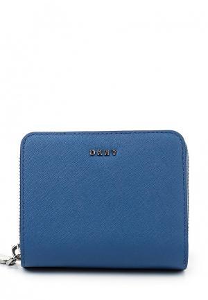 Кошелек DKNY DK001BWQZL00. Цвет: синий