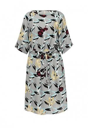 Платье Baon. Цвет: серый