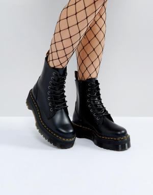 Массивные ботинки на платформе Jadon-Черный Dr Martens