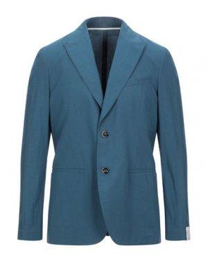Пиджак PAOLO PECORA. Цвет: цвет морской волны