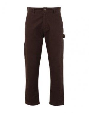 Повседневные брюки CATERPILLAR. Цвет: какао