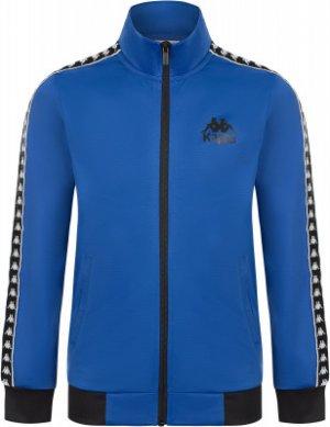 Олимпийка для мальчиков , размер 164 Kappa. Цвет: синий