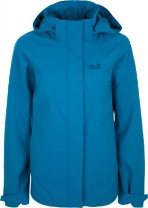 Ветровка женская Highland, размер 52-54 JACK WOLFSKIN. Цвет: голубой