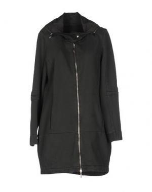 Пальто EUROPEAN CULTURE. Цвет: темно-зеленый