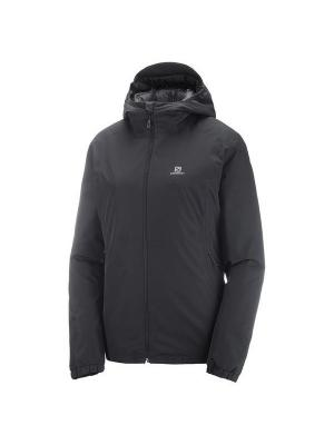 Куртка ESSENTIAL INSULATED JKT W Black SALOMON. Цвет: черный