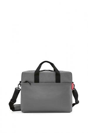 Сумка для ноутбука Workbag REISENTHEL. Цвет: серый