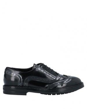 Обувь на шнурках AGL ATTILIO GIUSTI LEOMBRUNI. Цвет: черный