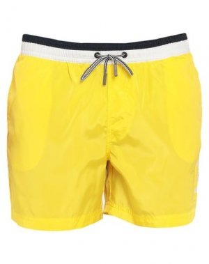 Шорты для плавания HENRI LLOYD. Цвет: желтый