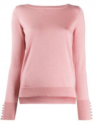 Пуловер с кристаллами Swarovski Snobby Sheep. Цвет: розовый