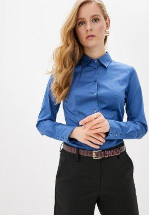 Рубашка Hugo. Цвет: синий
