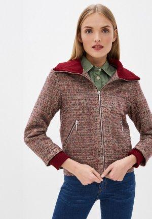 Куртка Gregory. Цвет: бордовый