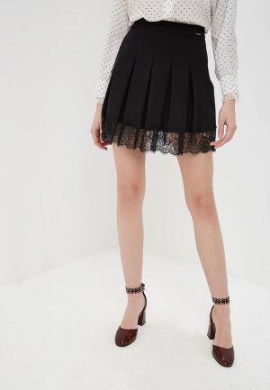 Юбка Liu Jo. Цвет: черный