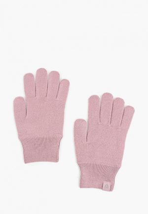 Перчатки Reebok FOUND W GLOVES. Цвет: розовый