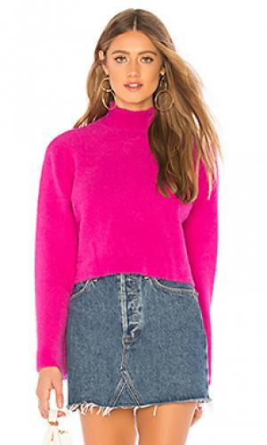 Пуловер jess Tularosa. Цвет: розовый