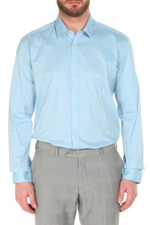 Сорочка Mercanti veneti. Цвет: голубой, серый, белый