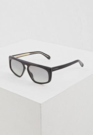 Очки солнцезащитные Givenchy GV 7125/S 807. Цвет: черный