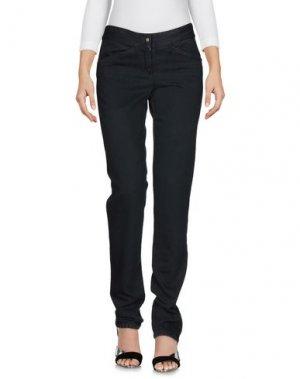 Джинсовые брюки COSTUME NATIONAL. Цвет: стальной серый