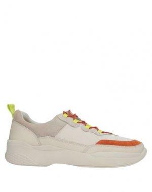 Кеды и кроссовки VAGABOND SHOEMAKERS. Цвет: ржаво-коричневый