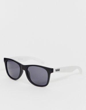 Солнцезащитные очки в черно-белой оправе Spicoli 4-Черный цвет Vans