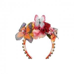 Ободок для волос Dolce & Gabbana. Цвет: разноцветный