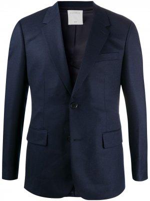 Пиджак узкого кроя Sandro Paris. Цвет: синий