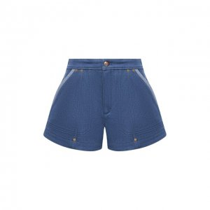 Джинсовые шорты Chloé. Цвет: синий