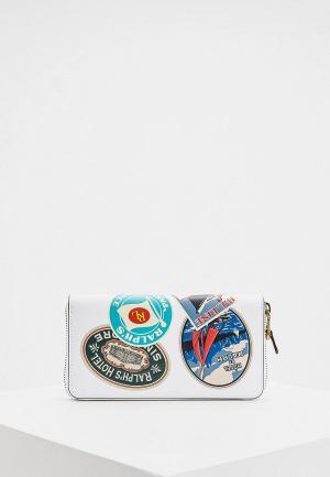 Кошелек Polo Ralph Lauren. Цвет: белый