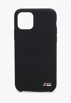 Чехол для iPhone BMW 11 Pro, M-Collection Liquid silicone Black. Цвет: черный