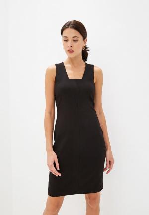 Платье Sisley. Цвет: черный
