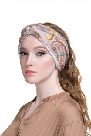 Повязка для волос Paon. Цвет: бежевый