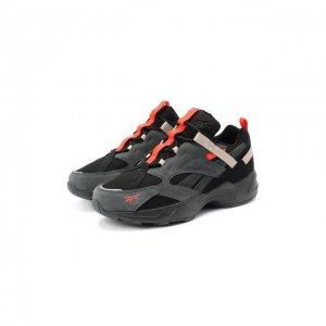 Комбинированные кроссовки Aztrek 96 Adventure Reebok. Цвет: серый