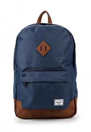 Рюкзак Herschel Supply Co HERITAGE. Цвет: синий
