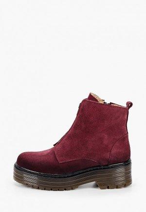 Ботинки El Tempo. Цвет: бордовый